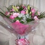 Aqua Bouquet All Pink