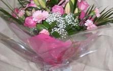 Aqua Bouquet All Pink