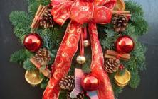 Christmassy Door Wreath
