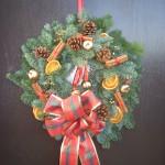 Spruce Christmas Door Wreath