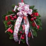 Spruce Door Wreath