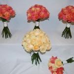 Brides, Bridesmaids and Flowergirls Hand Tieds