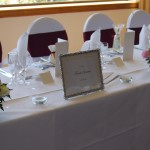 Top Table Arrangements