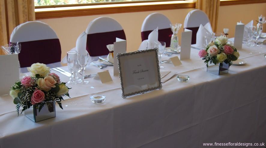 Reception And Ceremony Arrangements