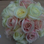 All Rose Bridal Hand Tied Bouquet