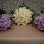 Bride and Bridesmaids Hand Tied Bouquets