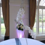 Orchid and Rose Table Centre