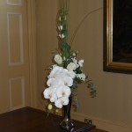 Floral Arrangement on Registrar Table