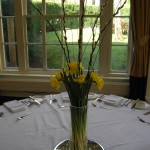 Simple Spring Table Centre