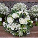Bride and Bridemaids Bridal Bouquets